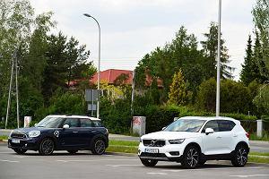 Opinie Moto.pl: Volvo XC40 T5 kontra Mini Cooper SE All4 Countryman. Co lepiej pasuje do SUV-a - hybryda czy klasyczna benzyna?