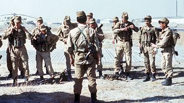 Oddział Specnazu przygotowuje się do walki w Afganistanie, 1988 r.
