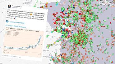 Ceny frachtu rosną od miesięcy, a port w Ningbo częściowo zamknięty.