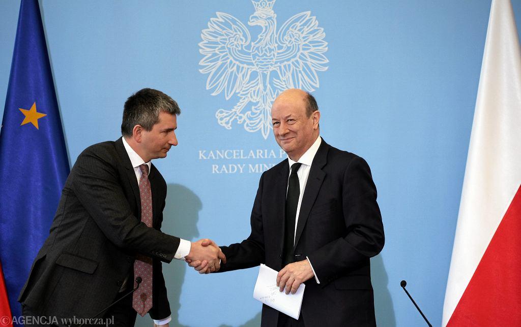 Mateusz Szczurek i Jan Vincent Rostowski