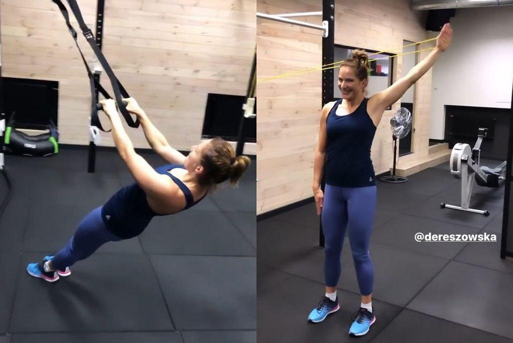 Trening Anny Dereszowskiej