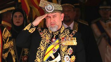 Król Malezji Sultan Muhammad V Faris Petra