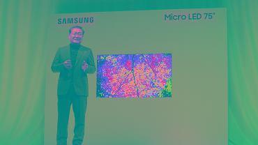 CES 2019: Nowy 75-calowy telewizor Micro LED od Samsunga