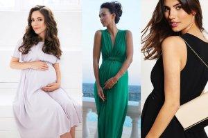 Sukienki na wesele, chrzciny i inne ważne imprezy dla przyszłych mam