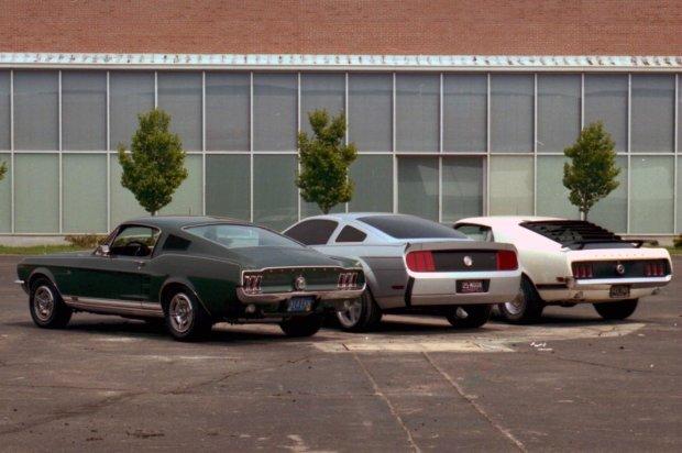 Linia nadwozia była inspirowana pierwszą generacją z 1964 i 1967 roku