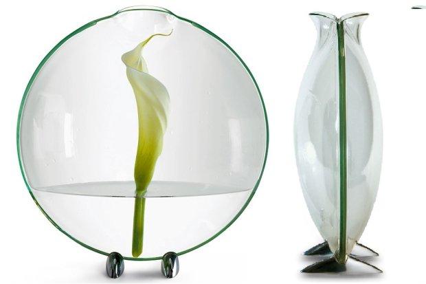 Akcesoria: dekoracyjne jak kwiaty - 15 intrygujących wazonów
