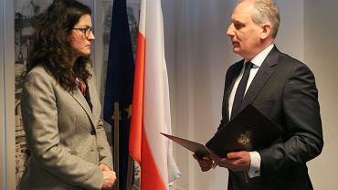 Aleksandra Dulkiewicz przejęła obowiązki Pawła Adamowicza. 'Nie będę pracować w biurze prezydenta'