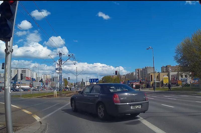 Nieuczciwy kierowca