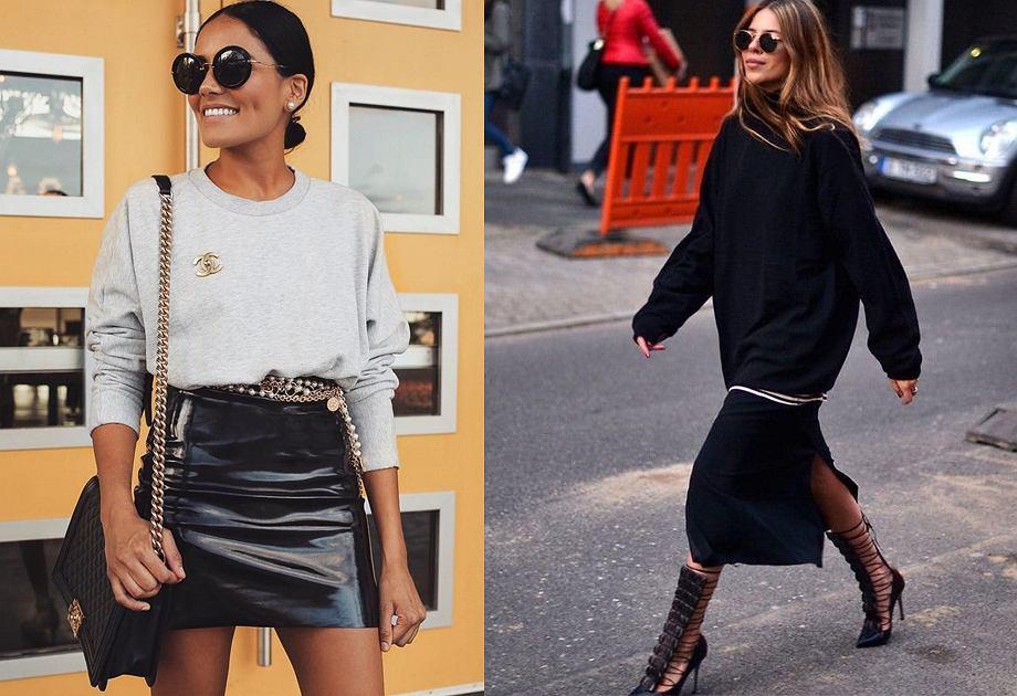 Trendy 2019: Bluzy sportowe do stylizacji ze spódnicą   Moda