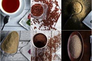 Superżywność: jagody Goji, len mielony złoty, quinoa, amarantus, ksylitol i łuska gryczana