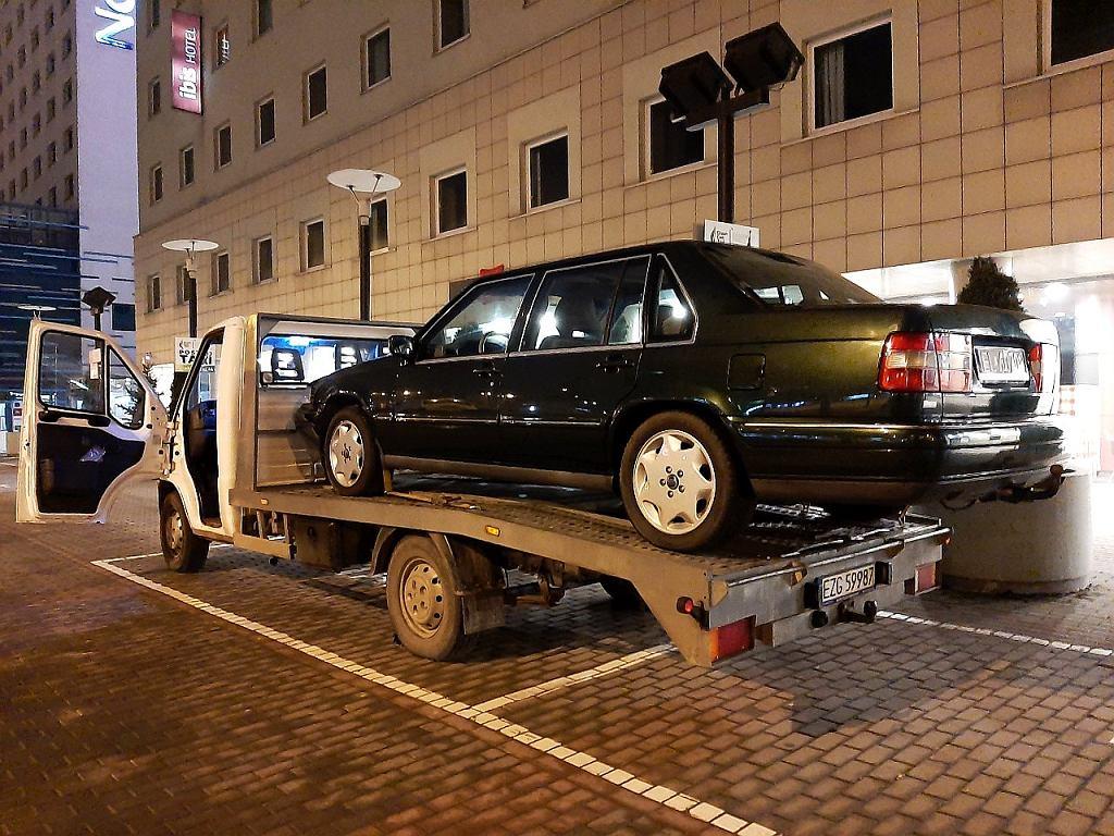 Postój samochodu