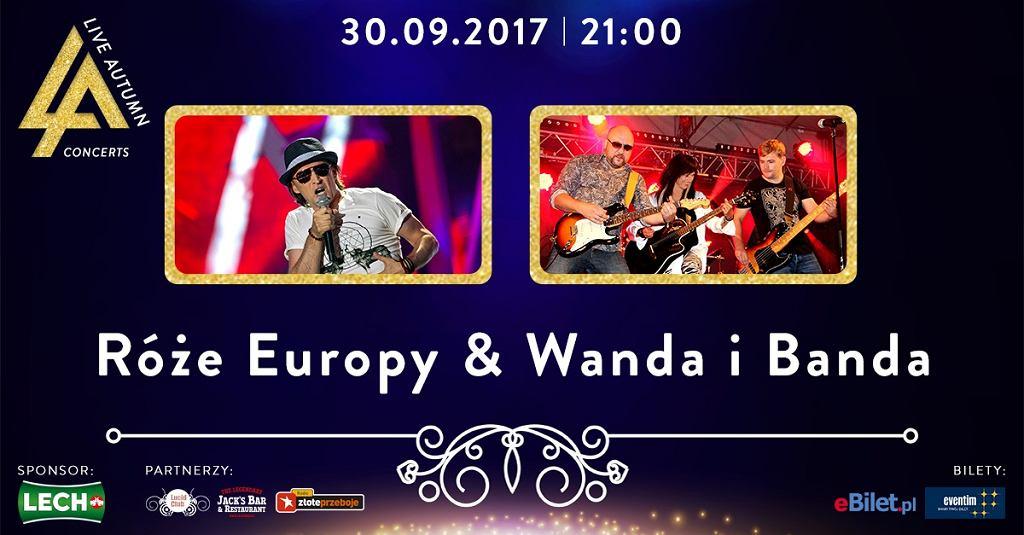 Róże Europy & Wanda i Banda w klubie Lucid