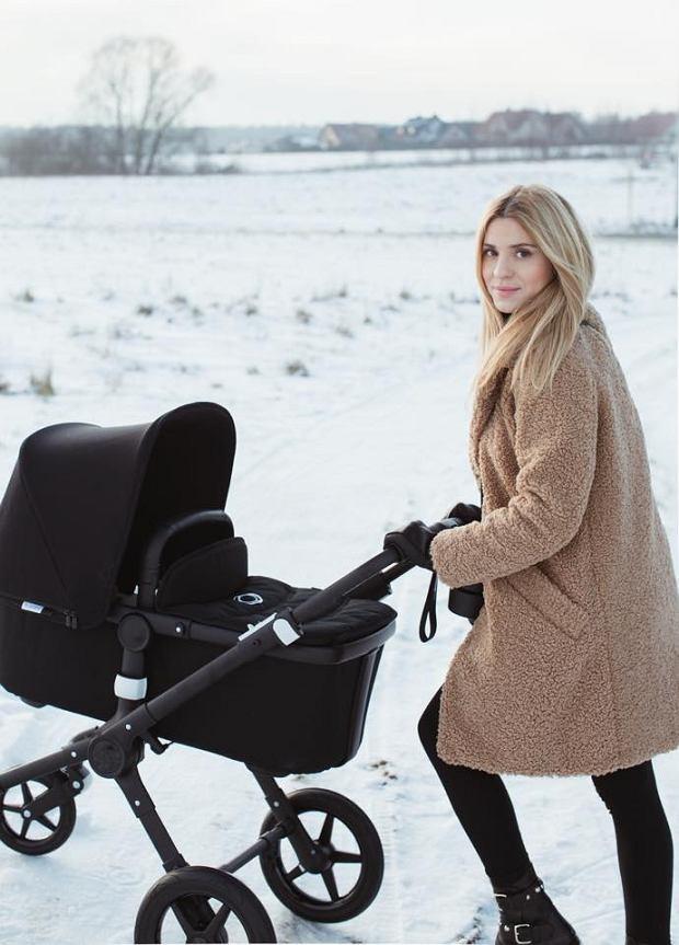 To pierwsze zdjęcia blogerki z dzieckiem w wózku
