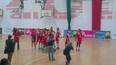 Koszykarki Widzewa po zwycięstwie z CCC Polkowice w poprzedniej rundzie