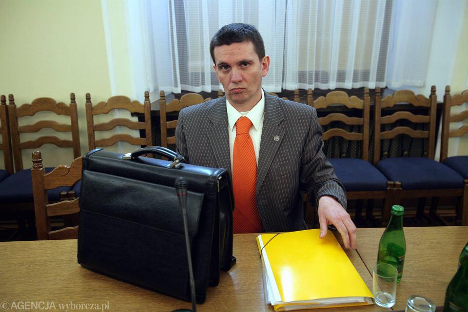 Zdjęcie numer 1 w galerii - Piotr Bączek szefem Służby Kontrwywiadu Wojskowego. Musi więc wrócić sprawa martwej wiewiórki