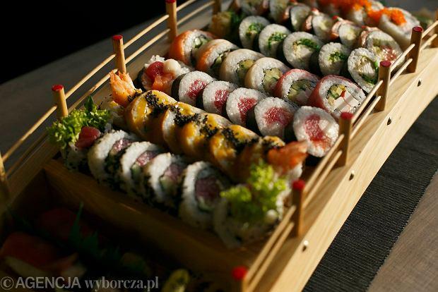 09.12.2014 Gdansk . Restauracja Koku Sushi w Gdansku .  fot. Lukasz Glowala / Agencja Gazeta