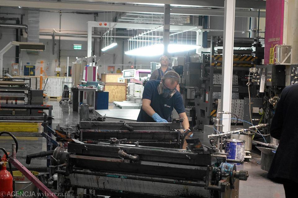 Otwarcie nowej hali produkcyjno-magazynowej firmy Amcor Tobacco Packaging Polska