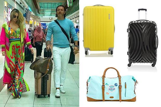 Kolaż, walizki i torby podróżne/Materiały partnera