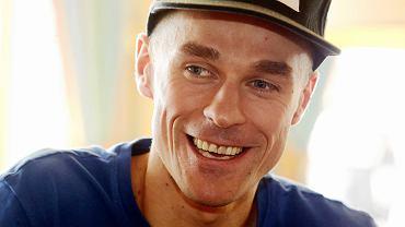 Piotr Żyła podczas mistrzostw świata w Seefeld