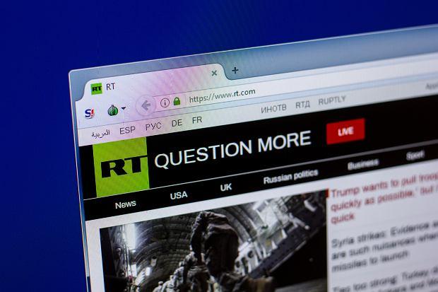"""YouTube wyrzucił Russia Today za fake newsy o koronawirusie. """"Medialna wojna Niemiec z Rosją"""""""