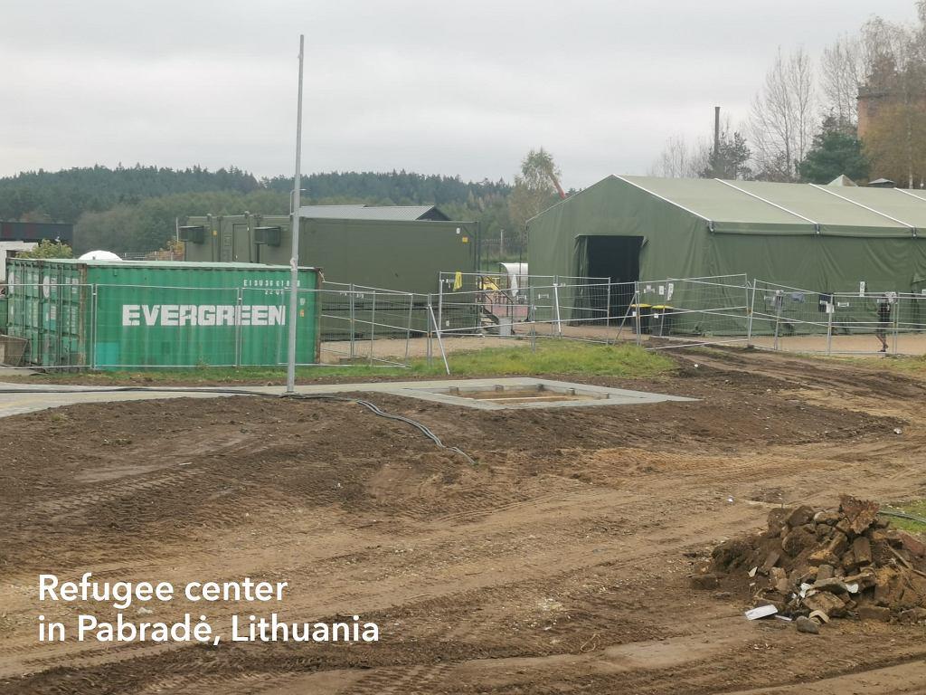 Ośrodek dla uchodźców, Litwa