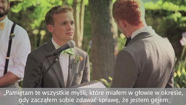 fragment filmu o równości małżeństw LGBT