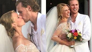 Barron Hilton i Tessa Gräfin von Walderdorff - ślub