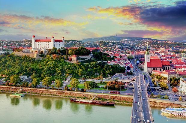 Słowacja, Bratysława - dużo dobrego jedzenia i mnóstwo zieleni