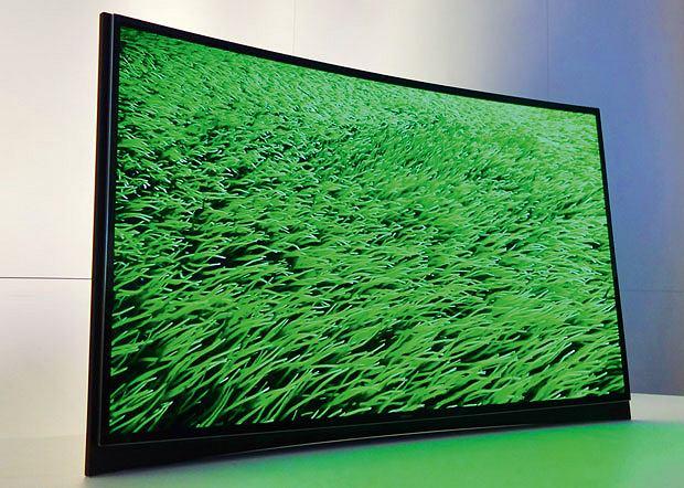 telewizory, wideo, Telewizory inne niż wszystkie, Samsung Curved Oled