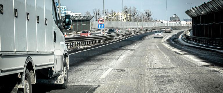 Chorzów. Karambol na DTŚ i kilkukilometrowy korek w stronę Katowic
