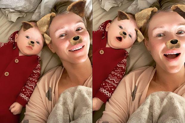 Joanna Krupa opublikowała nowe zdjęcia z małą Ashą-Leigh. To samo zrobił jej mąż, ale już bez instagramowego filtra.