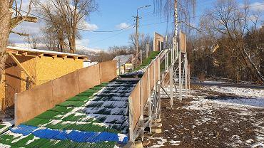 'Twoja Skocznia - skocznia dla każdego'. Mobilna skocznia narciarska w Wiśle.