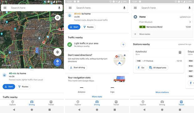 Nowy, odświeżony wygląd Google Maps