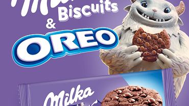 Nowość w portfolio Milka & Oreo - ciastka Milka Oreo Sensations