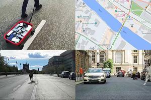 Jak stworzyć sztuczny korek na mapach Google'a? Wózkiem pełnym smartfonów