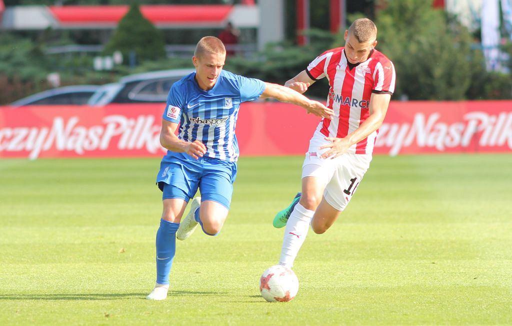 Finał Centralnej Ligi Juniorów 2017/2018: Lech Poznań - Cracovia 2:0. Michał Skóraś