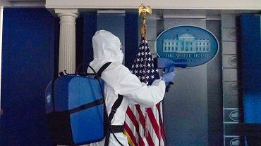 Biały Dom sprzątany wyjątkowo skrupulatnie