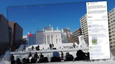 Repliki warszawskich atrakcji można podziwiać w czasie Festiwalu Śniegu w Sapporo