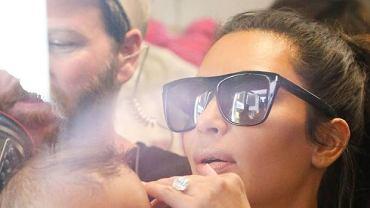 Kim Kardashian z Saintem