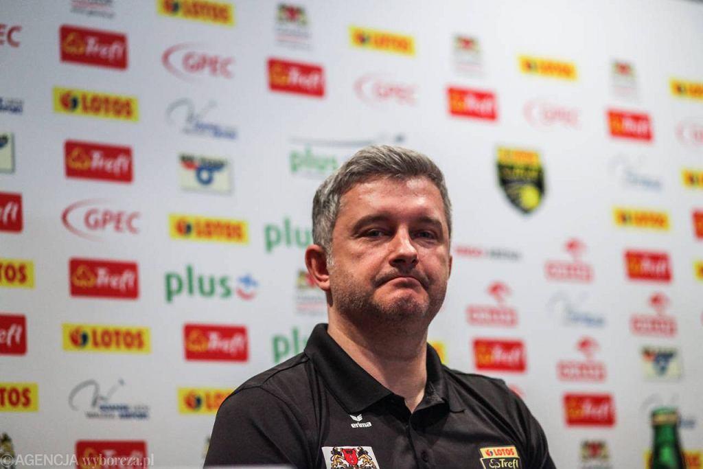 Trener Radosław Panas