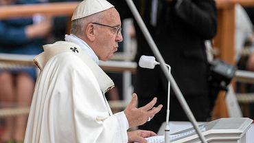 Częstochowa, jasnogórskie błonia, 28 lipca 2016. Uroczystości z udziałem papieża Franciszka w ramach Światowego Dnia Młodzieży