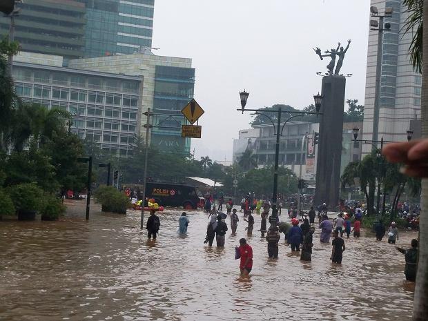 Powódź w Jakarcie