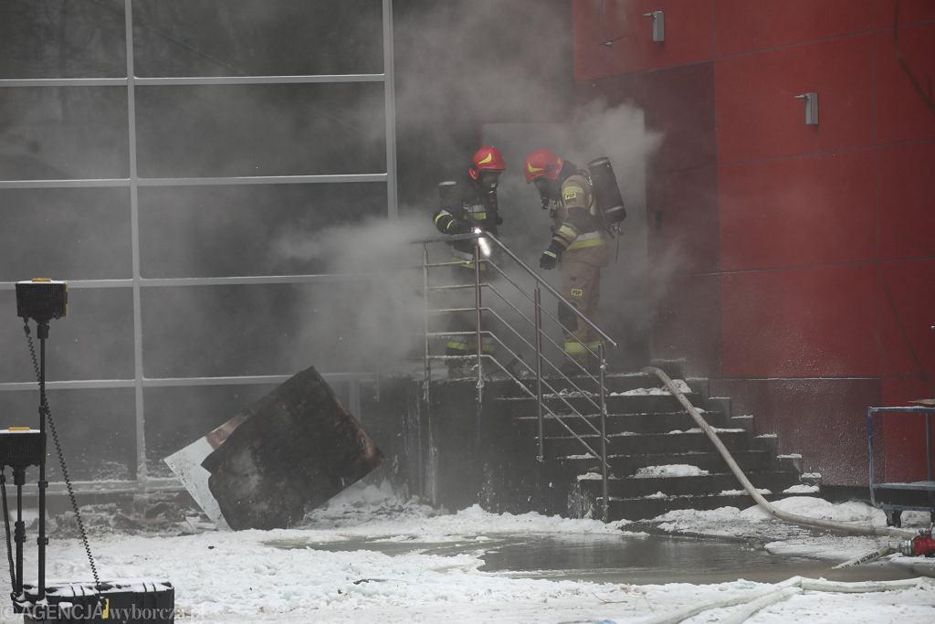 Pożar Archiwum Miejskiego w Krakowie