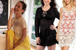 Kolaż, sukienki plażowe/Materiały partnera/www.instagram.com/paulinasykutjezyna/