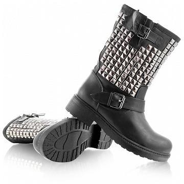 biker boots, deezee