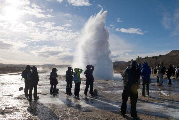 Gejzery na Islandii
