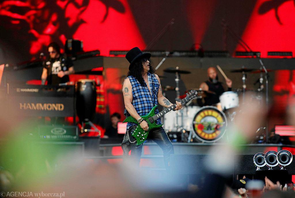 Koncert Guns N' Roses na Stadionie Śląskim w Chorzowie