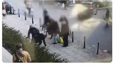 Policja opublikowała nagranie z chwili ataku na wolontariusza