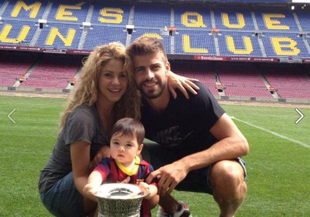 Shakira, Milan, Gerard Pique