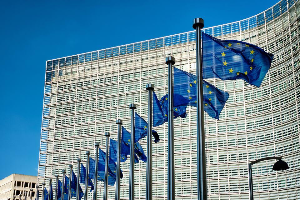 Bruksela, siedziba Komisji Europejskiej